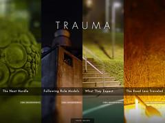 TRAUMA: Title Screen