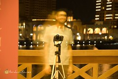 ME ! -  (halloween night) (Barhoomo) Tags: ocean sea water night project photography boat amazing nikon shot taxi jet land pearl ibrahim doha qatar   younes         d80           80