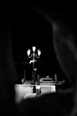 una luce...sbirciando vidi.... (Francesco Cavallari Photography ) Tags: light bw white black boat barche laguna bianconero chioggia notturno veneto francescocavallari mmonochrome