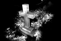 St Peters Churchyard Prestbury (Oliver Wood Photography) Tags: lightpainting stpeters night manchester moody cheshire churchyard blackdiamond prestbury
