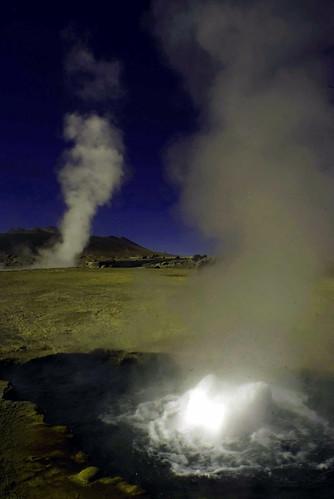 Viande. Geyser de El Tatio, Chile. Foto di Massimo Di Terlizzi