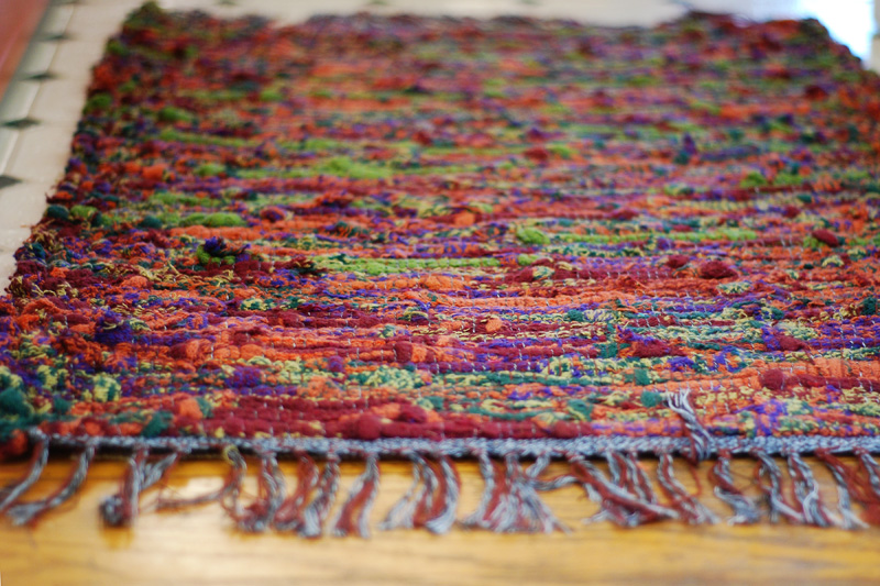 Favorite things: My rug from Crazy as a Loom