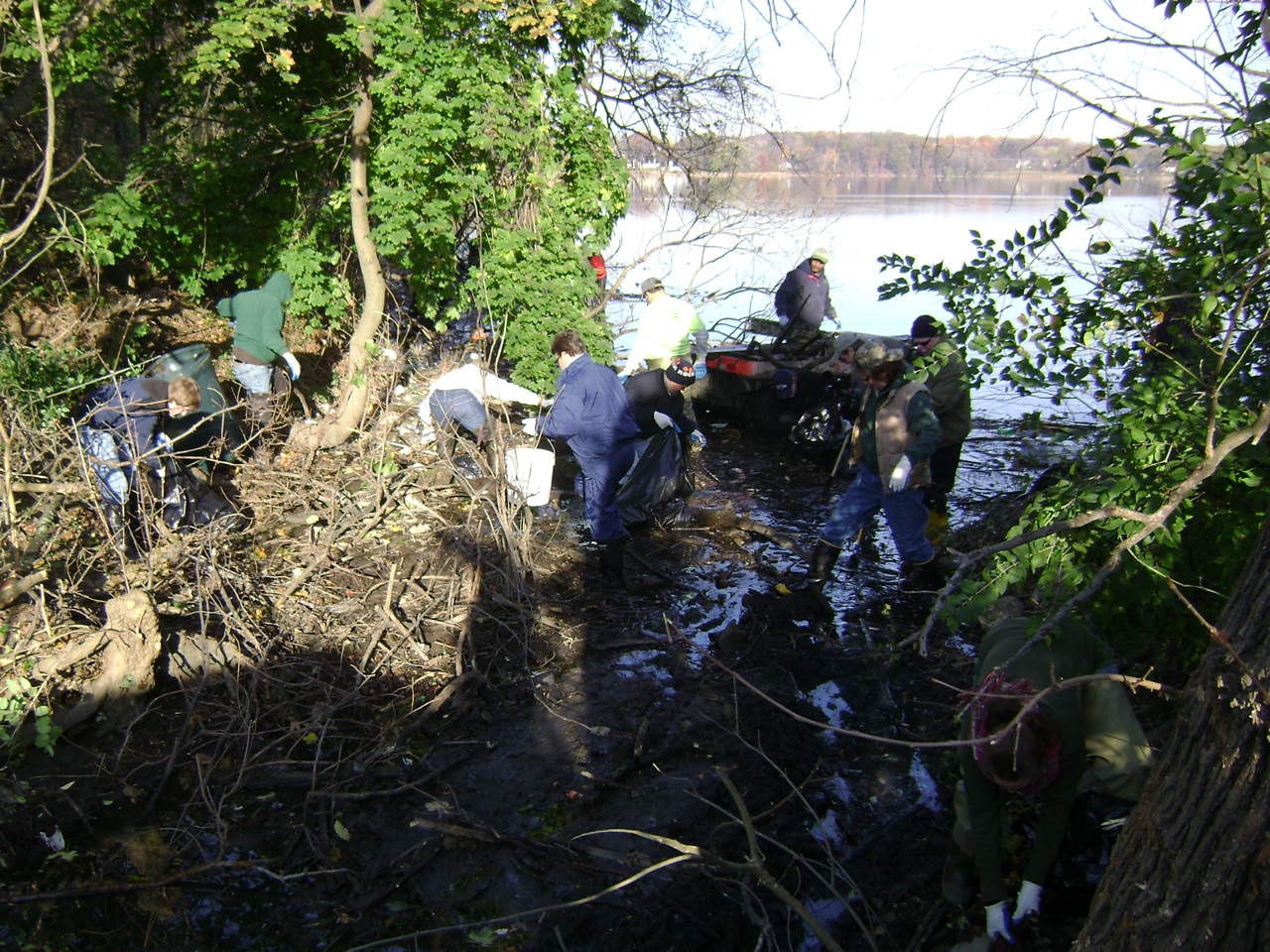 Back River Clean Up