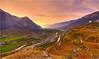 Autumn valley view (pascalbovet.com) Tags: autumn mountain schweiz switzerland herbst berge valley wallis tal valais leuk susten