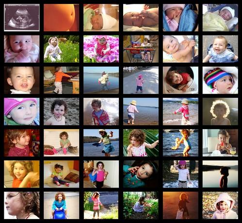 collage de Lily-Soleil