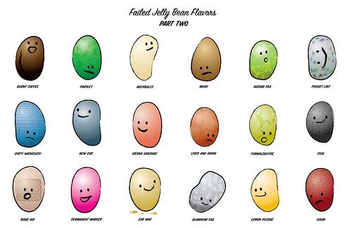 jelly beans cartoon