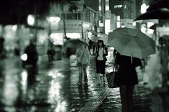 1948/1743^:z (june1777) Tags: street light bw rain night zeiss canon eos bokeh snap jena f carl seoul adapter 5d 3200 tilt f28 insadong 80mm czj biometar hartblei
