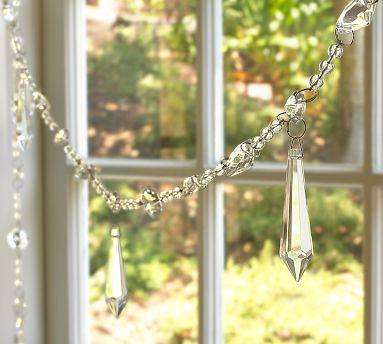 chandelier garland
