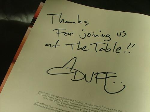 duff's note