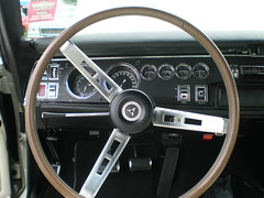 Super Bee Steering Wheel (Sherri Kent) Tags: cars steeringwheel superbee