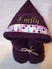 purple dot (spiritofgiving) Tags: towels custom personalized hooded
