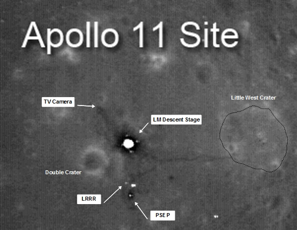 location moon map landing site apollo 12 - photo #24