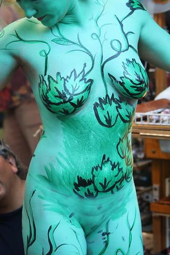 The Green Lady - Fantasy Fest 2009