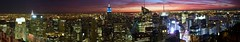 Panorama from the Top of the Rock, NY (gula08) Tags: panorama newyork manhattan rockefellercenter perfectpanoramas panoramamaker4 dmczs3 zs3 panasoniczs3 lumixzs3 panasoniclumixdmczs3