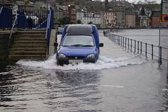 (Zak355) Tags: sea water weather scotland flood hightide rothesay espanade isleofbute