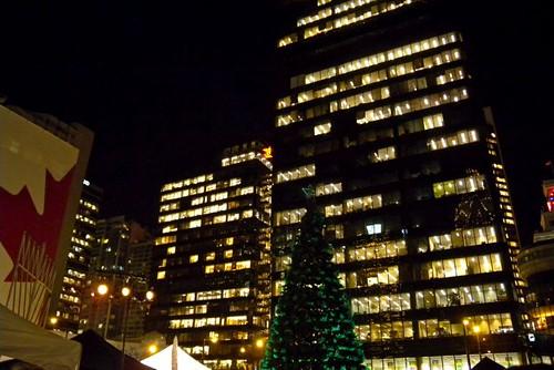 Amacon Christmas Tree, Before Lighting