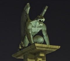 GARGOLA HDR (Pepe Cumplido) Tags: estatua hdr gargola leonalado