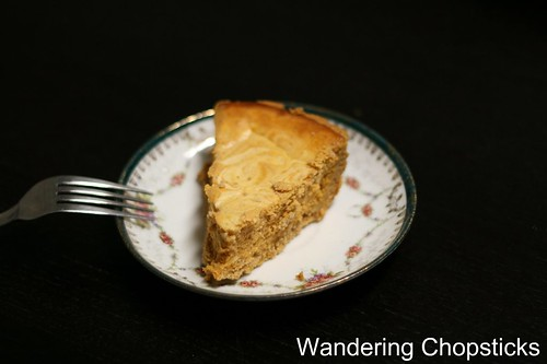 Lil' Sis' Pumpkin Marble Cheesecake