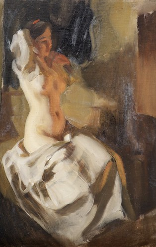ZORN Anders Nude in Fire Light 1904