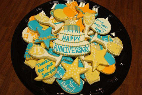 Work Anniversary Cookies a photo on Flickriver