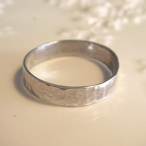 men's dapped ring