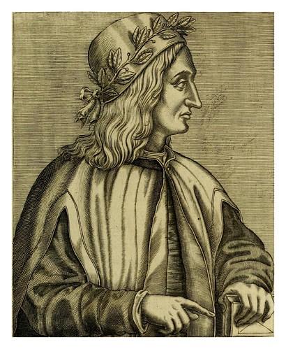 019-Giovanni Pico della Mirandola-Les vrais pourtraits et vies des hommes illustres grecz, latins et payens 1584-André Thevet