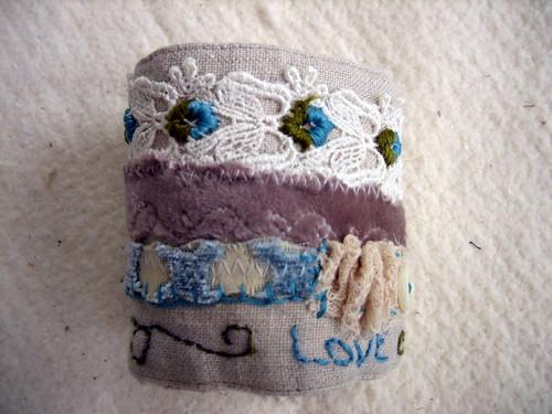 my fabric cuff