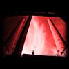 Twins... (Co G.) Tags: old sky france rose architecture rouge cross hell petal ciel crossprocessing processing co forge nuage cog jumelles usine nord flou vieux carré cheminée manufacture coline rosepetal roubaix enfer traitement croisé traitementcroisé garang twines vignetage colinegarang