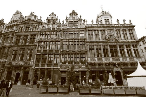 Roy d'Espagne, Grand Place. Brussels