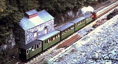 S0448 LLR (HE493/1889) 0-4-0ST Elidir Nr. Gilfach Ddu 1971 (davidncooke_686) Tags: uk wales train railway steam locomotive ng llanberis snowdonia gauge narrow