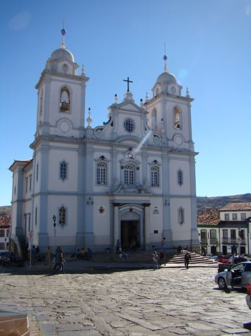 Cathedral of Diamantina - Brazil