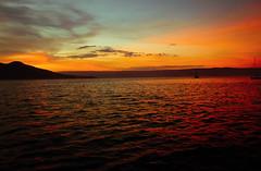 our sky. (~gciolini) Tags: ocean light sunset pordosol sea brazil sky music love colors brasil clouds cores mar nikon day barco peace dream cu colores passion keane serra montanha caragu ilhabela sosebastio gciolini