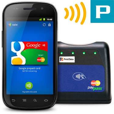 NFC Payments Google Wallet