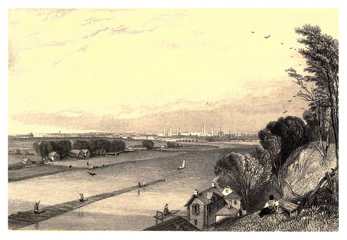 013-Moscow desde los jardines Nieskoochn-A journey to St. Petersburg and Moscow 1836- Ritchie Leitchi