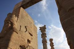 Persepolis - Shiraz - Iran     -  -  (Pedram Veisi) Tags: canon eos day iran cloudy shiraz  persepolis parseh   40d  platinumheartaward  heritagesite378