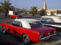 Ford Mustang 1965 (q8500e) Tags: old classic ford wow cool kuwait mustang 1965 q8 q8i q8500e
