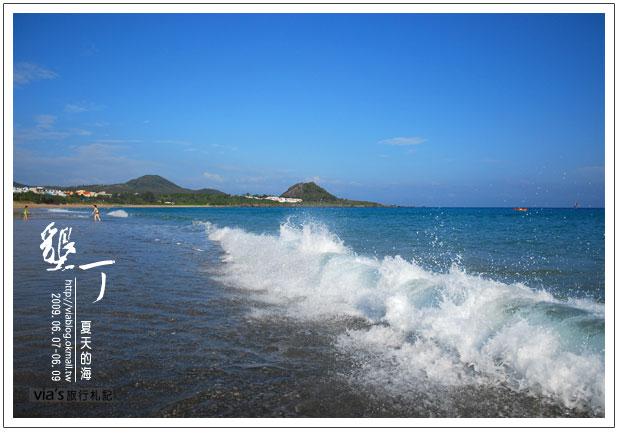 【墾丁景點】來渡假吧~墾丁夏都飯店海灘實景16