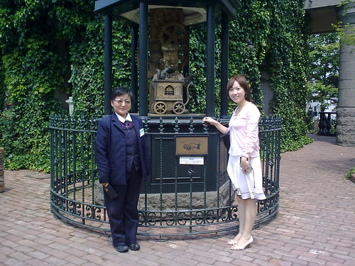 Shiroi Kobito Park-Kim and friendly Taxi Driver