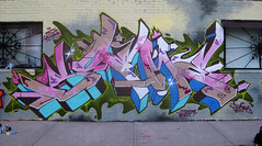 Pastels on Ice (Scotty Cash) Tags: toronto graffiti nine lives 2009 nwk sueme