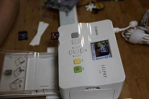デジカメ写真プリンター