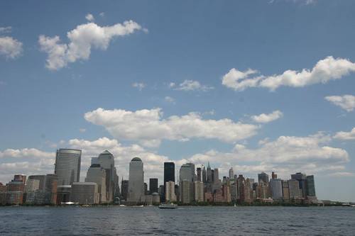 Manhattan skyline...