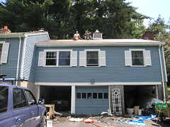 roof diy shingle replacement