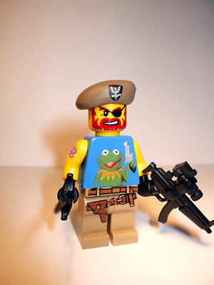 Commander Doyle custom minifig