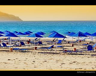 la spiaggia di Georgioupoli...Isola di Creta 2009...