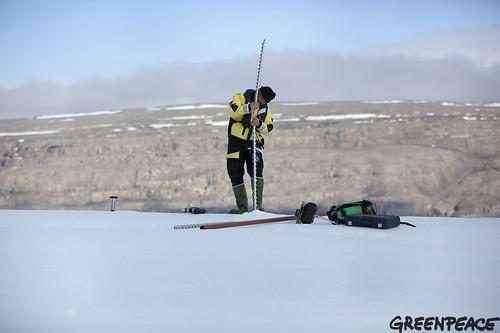 Greenpeace in Greenland