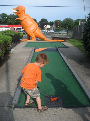 Route 1 Mini Golf In Action