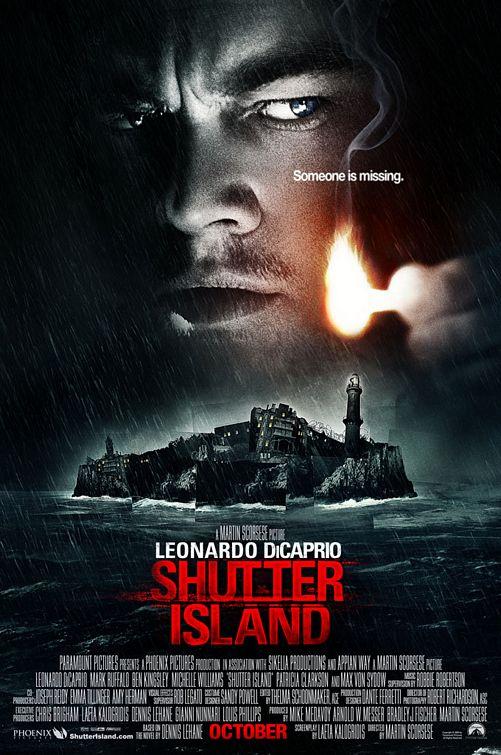 shutter island Martin Scorsese Leonardo DiCaprio