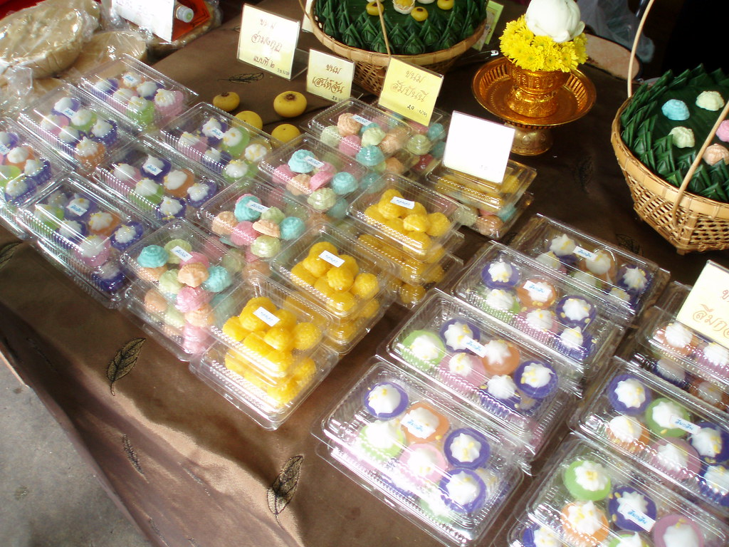 102 Sweets at Amphawa Floating Market