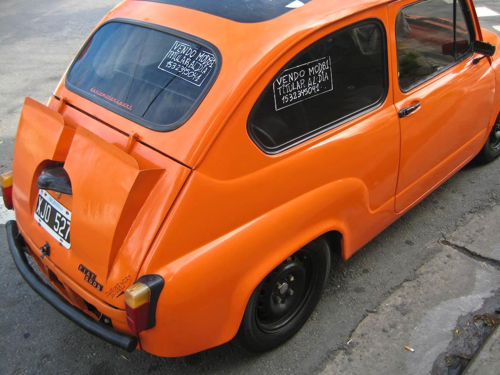 fiat orange