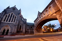Christchurch Cathedral (Mick h 51) Tags: longexposure ireland light christchurch dublin church saint architecture canon arch cathedral trails 8 explore viking tours stmichaelshill churchofireland explored 450d dublina
